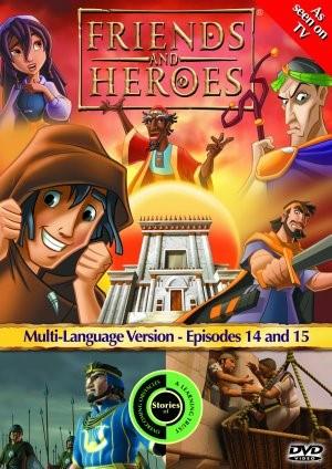 Friends & Heroes Ep 14-15 Dvd