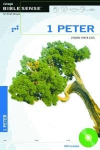1 Peter: Standing Firm In Jesus Book & DVD (Paperback w/DVD)