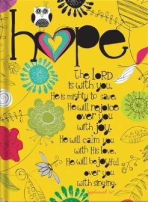 Journal - Hope (Hard Cover)