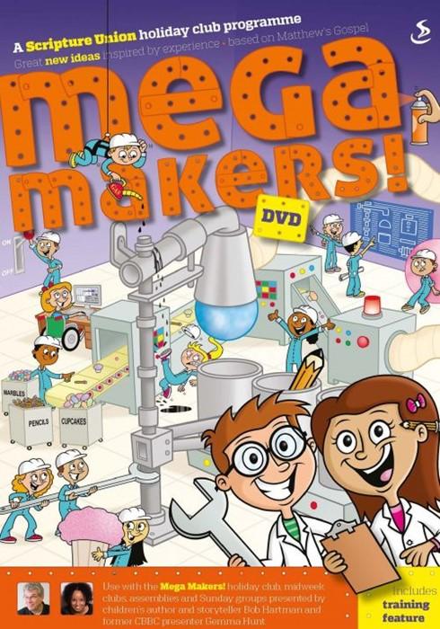Mega Makers! A Holiday Club DVD (DVD)