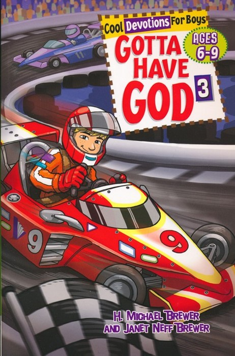 Gotta Have God: Cool Devotions for Boys, Volume 3 - Ages 6-9 (Spiral Bound)