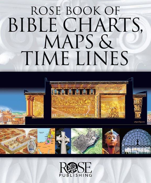 Rose Book Of Bible Charts, Maps & Time Lines (Spiral Bound)
