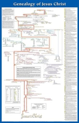 Genealogy of Jesus Laminated Wall Chart (Poster)