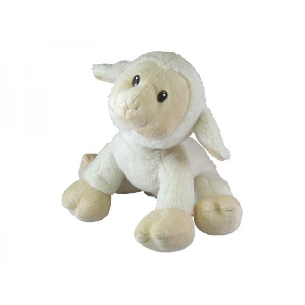 White Plush Lamb With Sound
