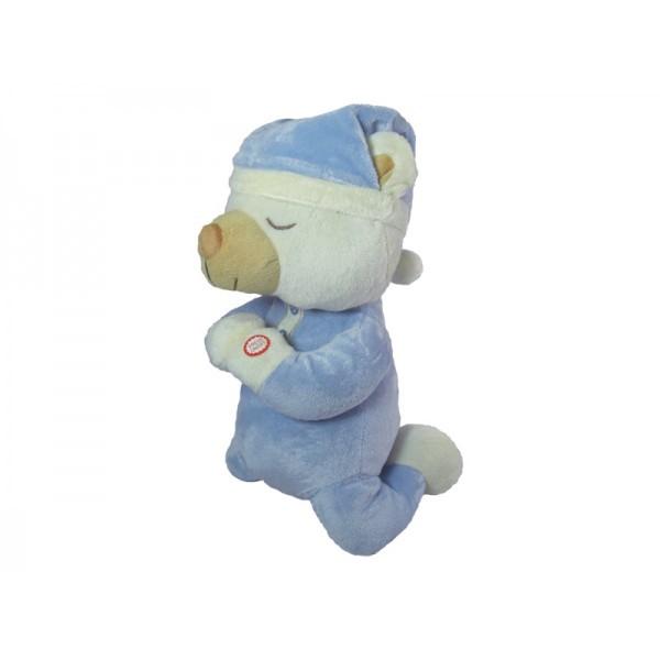 Praying Bear Blue With Sound