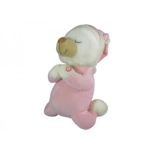 Praying Bear Pink With Sound