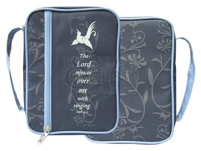 Bible Cover Zeph 3:17 Med