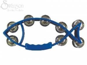 Fish Tambourine Blue