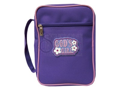 Bible Cover Gods Girl Lg