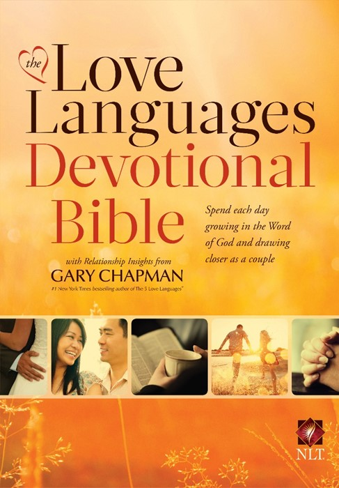 NLT Love Languages Devotional Bible HB (Hard Cover)