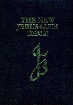 NJB New Jerusalem Bible, Black (Imitation Leather)