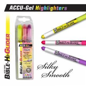 Bible Hi-Glider 3Pk Yellow/Pink/Violet