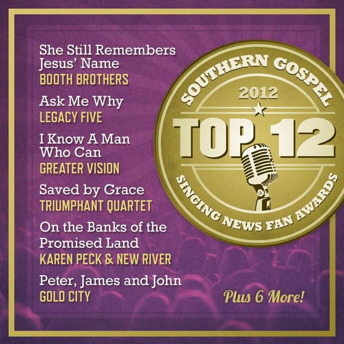 Singing News Top 12 Southern Gospel Songs 2012 CD (CD-Audio)