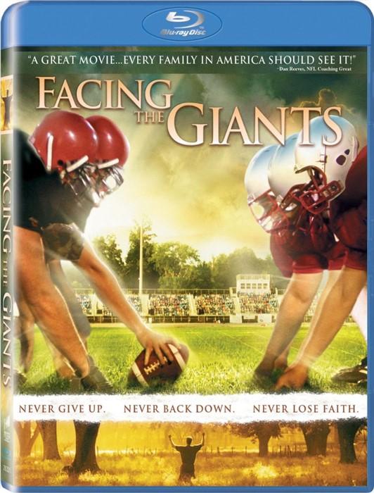 Facing The Giants Blu-Ray DVD (Blu-ray)