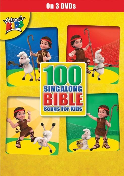 100 Singalong Bible Songs 3DVD's (DVD)