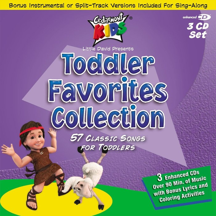 Cedarmont Kids Toddler Favourites Collection CD (CD-Audio)