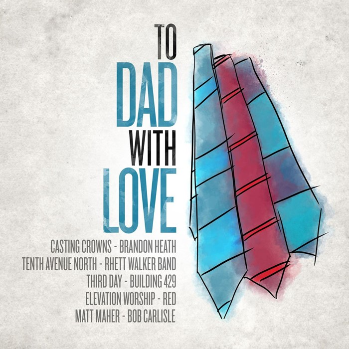 To Dad, With Love CD (CD-Audio)