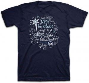T-Shirt Silent Night LARGE
