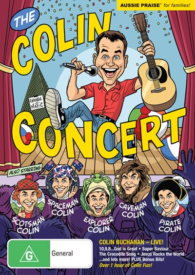 The Colin Concert DVD (DVD)