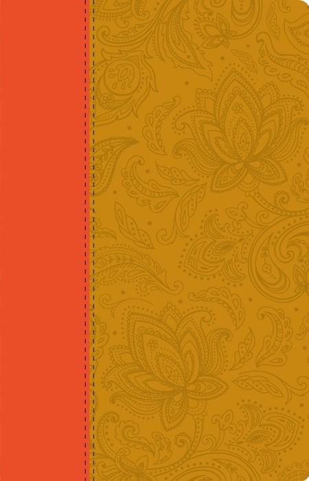 ESV Anglicised Thinline Bible, Paisley Tan (Hard Cover)