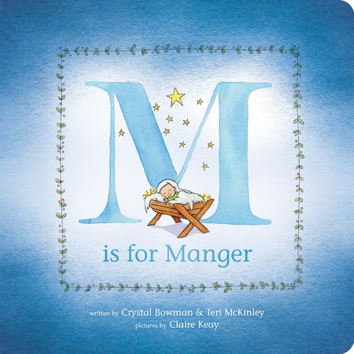 M Is For Manger (Board Book)