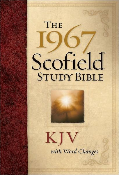 The 1967 Scofield Study Bible KJV (Hard Cover)