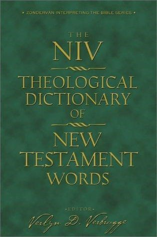 NIV Theological Dictionary Of New Testament Words (Hard Cover)
