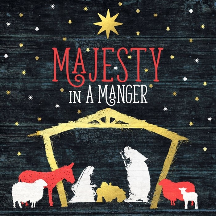 Majesty in a Manger CD (CD-Audio)