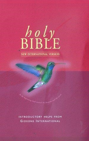NIV Popular Gideon Helps Bible (Hard Cover)
