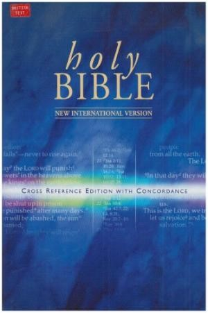 NIV Reference Bible (Hard Cover)
