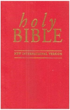 NIV Pocket Bible Red (Hard Cover)