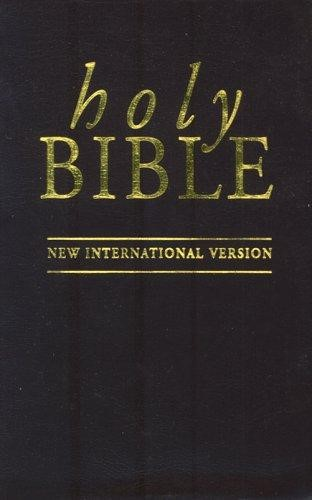 NIV Pocket Bible Brown (Imitation Leather)