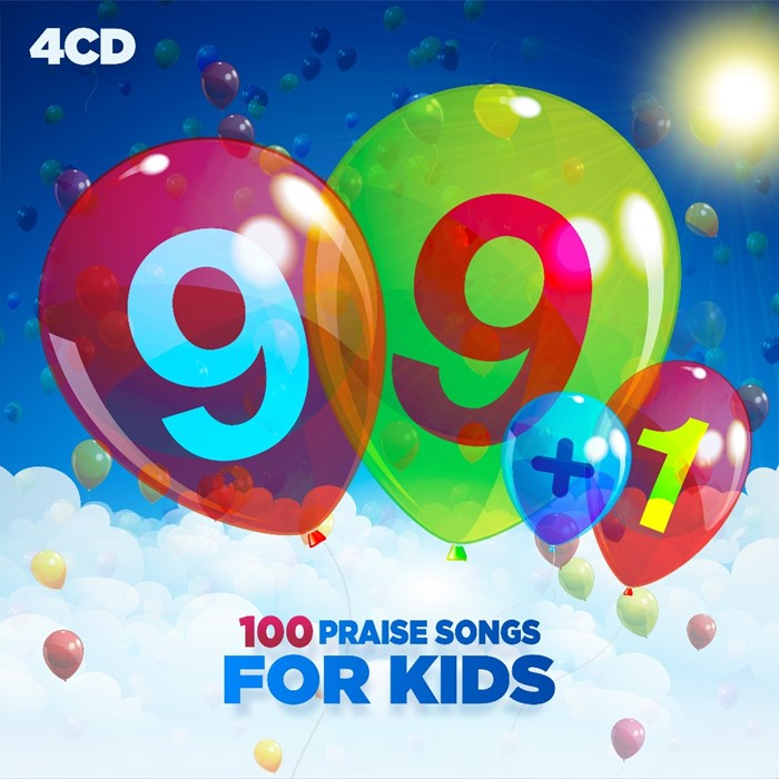 99+1 Praise Songs for Children (CD-Audio)