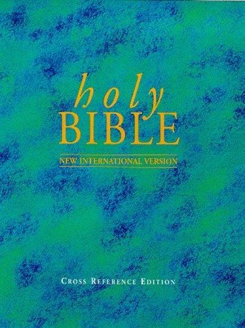 NIV Reference Bible Black (Hard Cover)