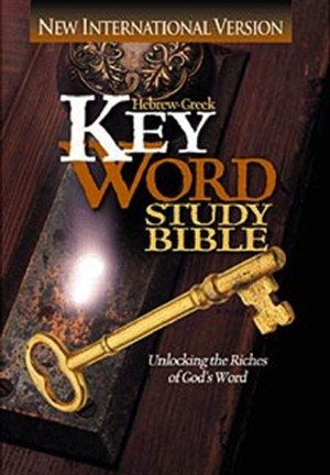 NIV Key Word Study Bible (Hard Cover)