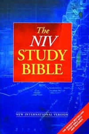 NIV Study Bible (Hard Cover)