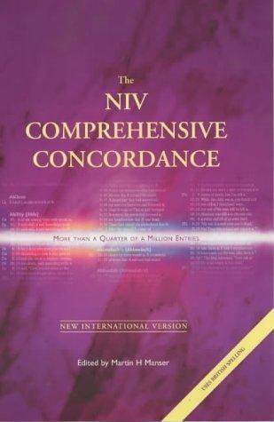 The NIV Comprehensive Concordance