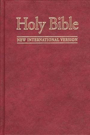 NIV Pew Bible Maroon Pack of 10