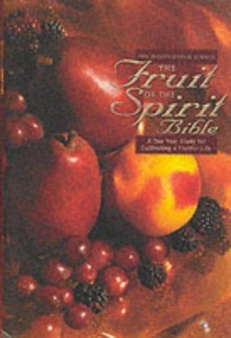 NIV Fruit of the Spirit Bible (Hard Cover)