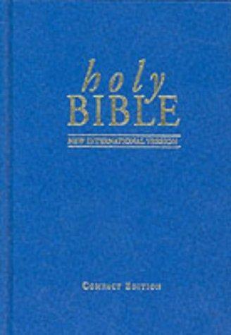 NIV Compact Bible Blue (Hard Cover)