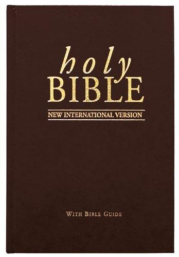 NIV Popular Bible Black