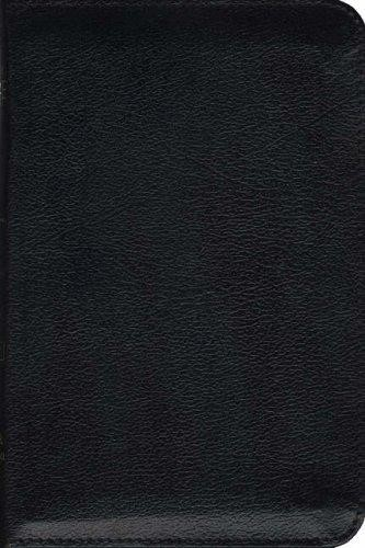 TNIV Personal Zip Bible Black (Leather Binding)