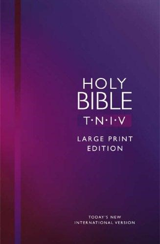 TNIV Large Print Bible (Hard Cover)