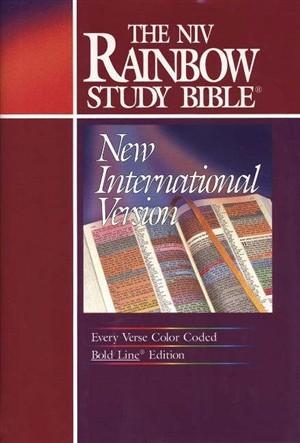 The NIV Rainbow Study Bible (Hard Cover)
