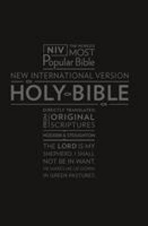 NIV Pocket Bible with Zip