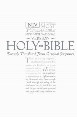 NIV Pocket Bible White