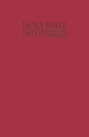 NIV Pocket Bible with Zip Pink