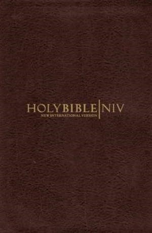 NIV Cross Reference Bible Chocolate (Leather Binding)