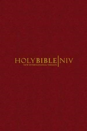NIV Popular Bible Burgundy