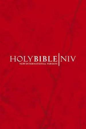NIV Pocket Bible Cherry